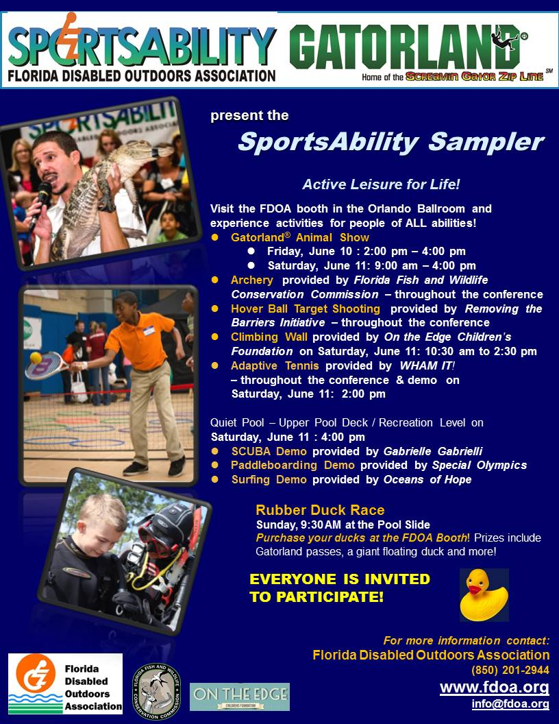 SportsAbility Sampler Program at Family Cafe 2016