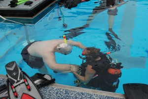 Person with a Spinal Cord Injury SCUBA Diving