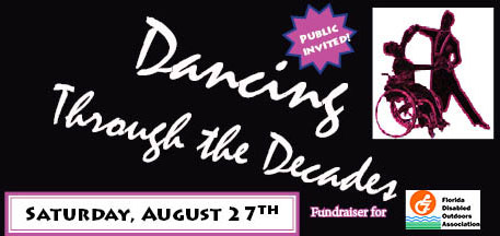 Dancing Through the Decades event on 8/27